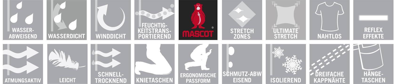 Mascot Icons | Arbeitskleidung, Workwear, Hygienemasken und Werbeartikel bei ZEGO in Aschaffenburg